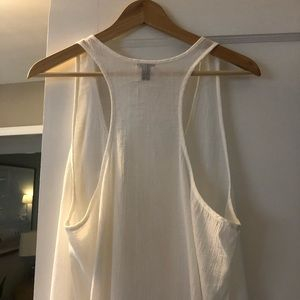 J. Crew Swim - J Crew White Swimsuit Coverup Dress